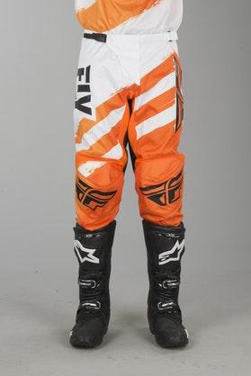 FLY F-16 MX Pants Orange-White