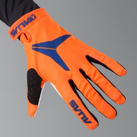Alias AKA Solid Motocross Gloves Neon Orange