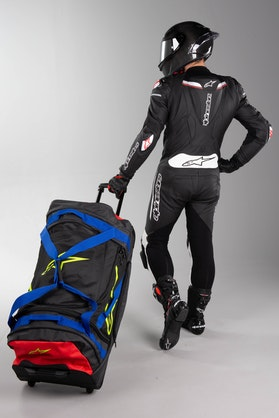 Alpinestars Komodo Gearbag Black-Blue-Red-FlouYellow
