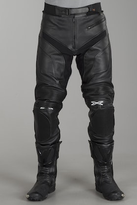 IXS Snipe Leather Trousers - Black