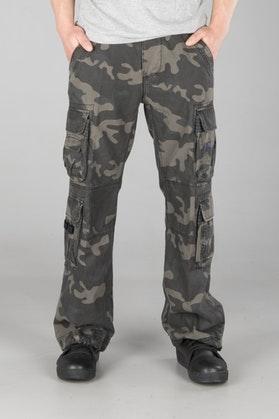 Spodnie Brandit Pure Vintage Ciemne Moro