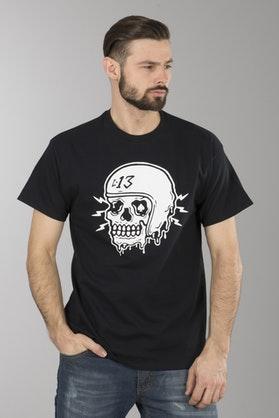 T-Shirt Lucky 13 Drip Czarny