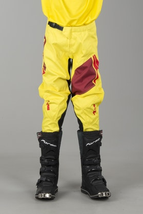 Alias Youth A2 Sidestacked Pants Yellow-Red