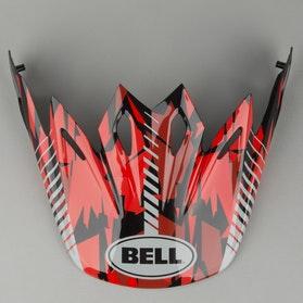 Daszek do kasku Bell Moto-9 Camo Czerwony