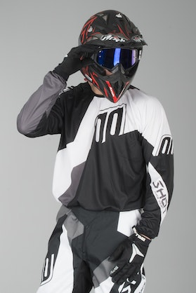 Shot Devo Alert MX-Jersey Black-White