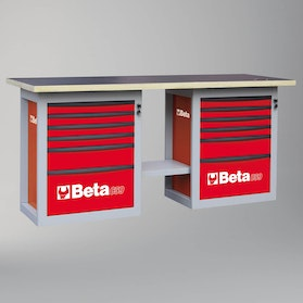 Beta Tools Workbench with 12 Drawers
