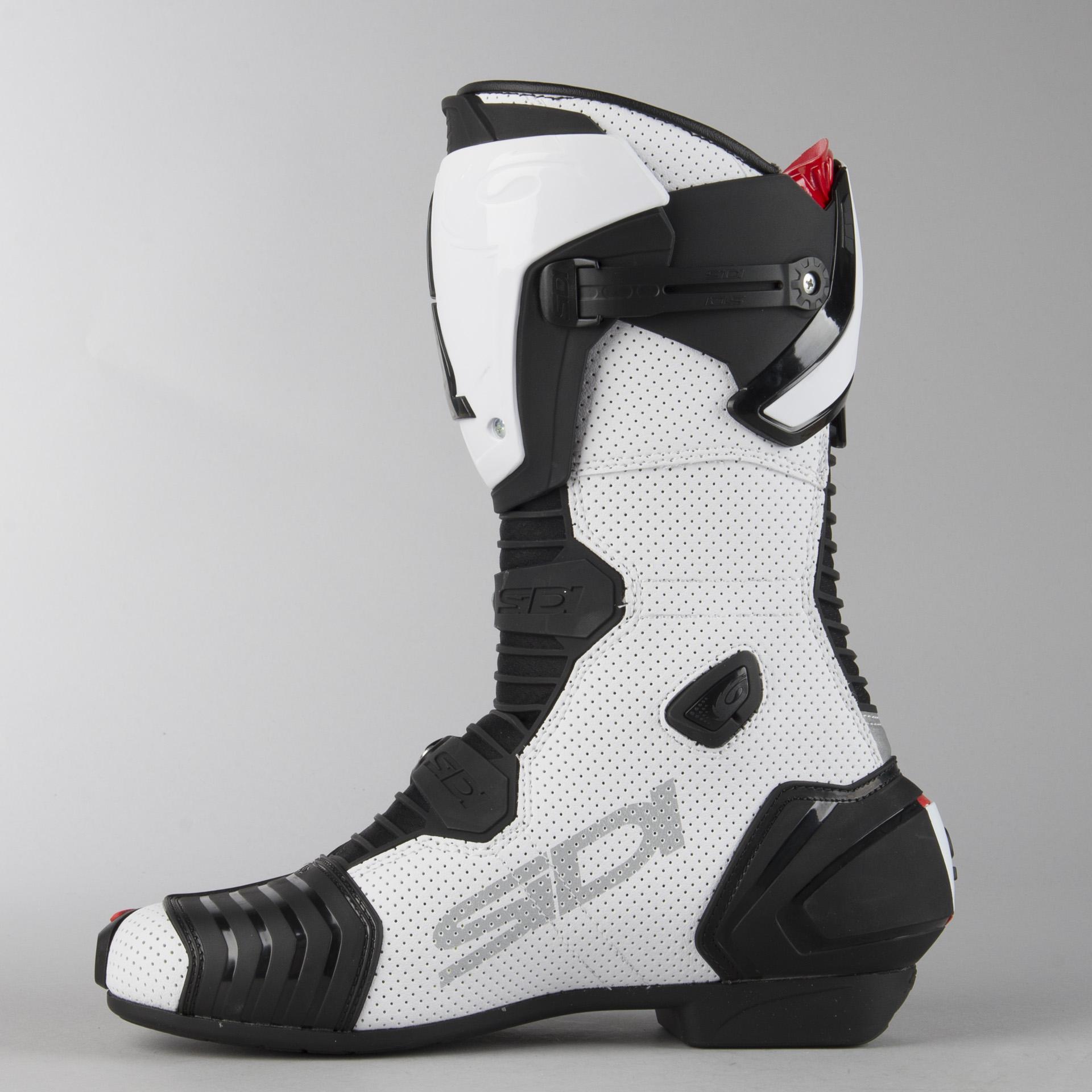Sidi MAG-1 AIR MC Boots White-Black