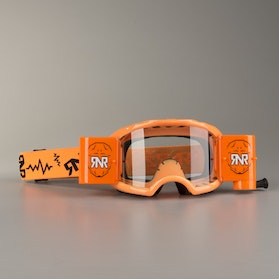 Rip 'n' Roll Colossus MX Goggles Neon Orange