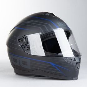 IXS 1100 2.1 Integral Helmet Matte Black-Blue