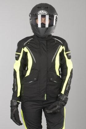 Kurtka Richa Cyclone Gore-Tex® Damska Fluorescencyjna Żółta