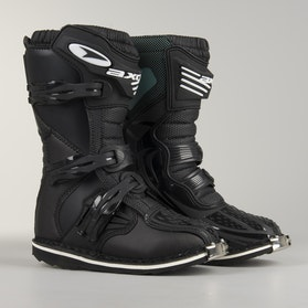 AXO Drone Youth MX Boots Black