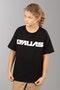 T-Shirt Alias Blocked Dziecięcy Czarny