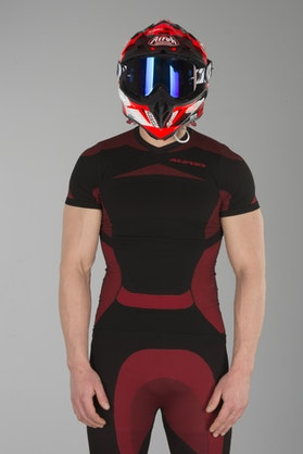Acerbis X-Body Summer SS Undershirt Black-Red