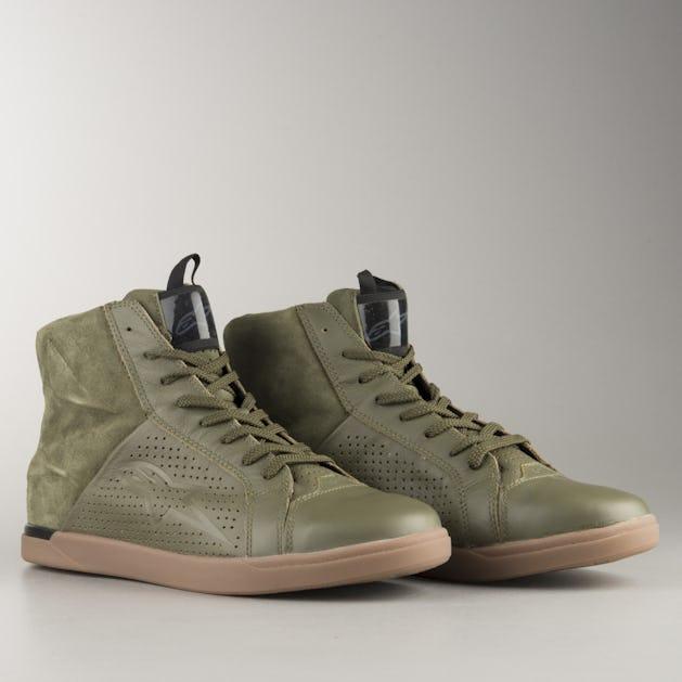 Alpinestars Jam Air MC-Shoes - Military Green - Now 5% Savings ... 08984d96164