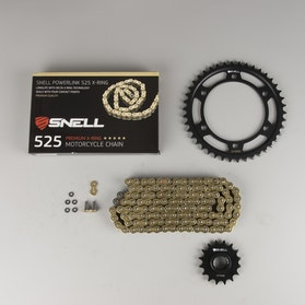 Snell Powerlink Chain & Sprocket Kit 428 X-Ring