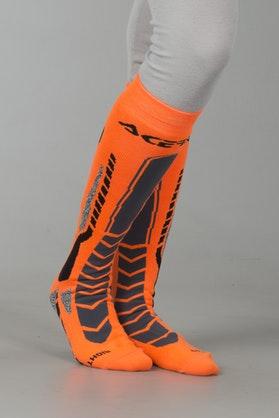 Skarpety Acerbis MX Pro Czarno-Pomarańczowe