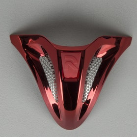 Części zapasowe Wentylacja Brody HJC RPHA X, Czerwona Chromowana Airaid MC1