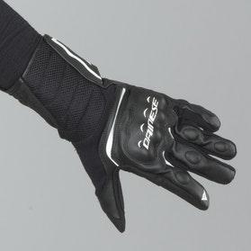 Rękawice Dainese Air Fast Czarno-Białe