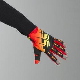 Acerbis MX2 Cross-Gloves Black-Orange