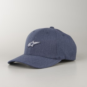 Alpinestars Feast Hat - Marine Blue-Heather