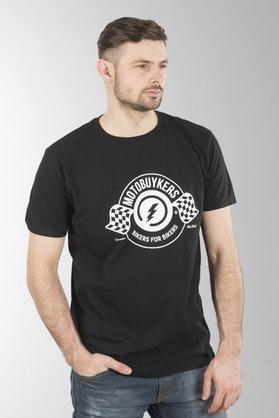Koszulka XLMoto Moto Czarna