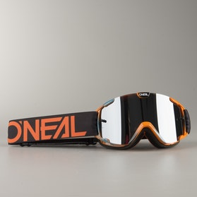 MX Brýle Dětské O'Neal B-30 INK Černé-Oranžové