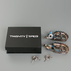 Twenty TiPeg Titanium Offset -1cm GP VERSION Foot Pegs