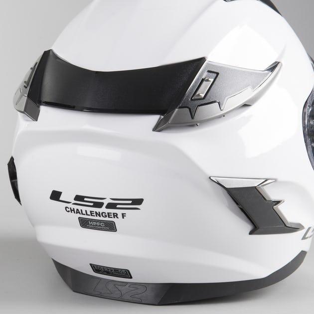 Casco Integral LS2 FF327 Challenger Solid Blanco