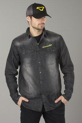 Macna Civil Jeans Shirt Black