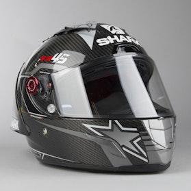 Kask Integralny Shark Race-R Pro GP Redding Włókno Węglowe Czarno-Metaliczny