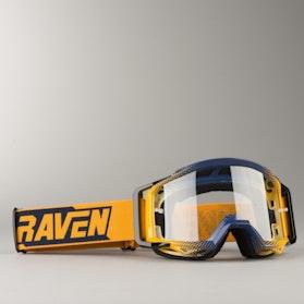 Motokrosové Brýle Raven Sniper Peach Echo Čiré
