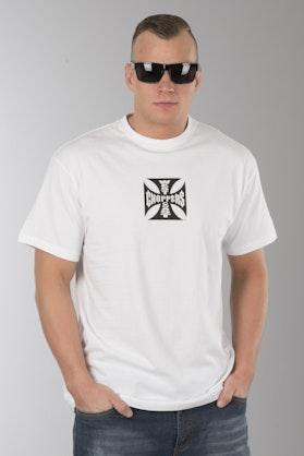 T-Shirt West Coast Choppers OG Cross Atx Biały