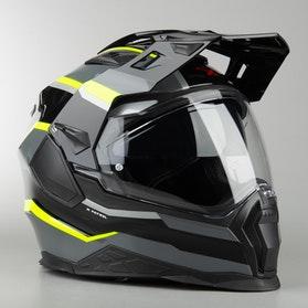 Kask Integralny Nexx X.WED2 X-Patrol Czarny/Tytanowy/Neonowy Żółty