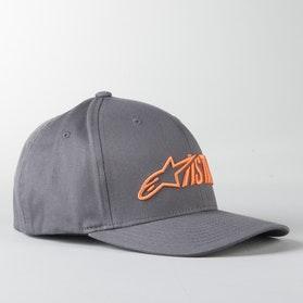 Kšiltovka Alpinestars Angle Blaze Tmavě Šedo-Oranžová