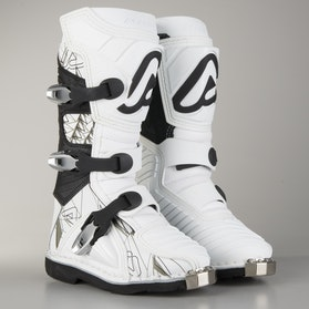 Acerbis Shark Youth Cross-Boots White-Black