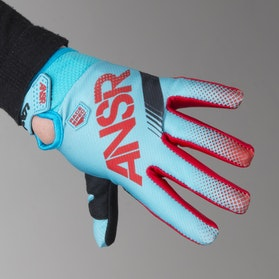 Answer Youth A17 Sync Gloves Red-Teal