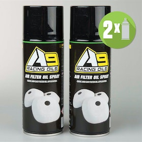 A9 Air Filter Oil Spray 2-pack