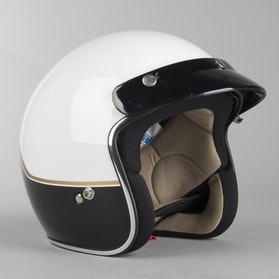 IXS 77 2.2 Helmet White-Black-Gold
