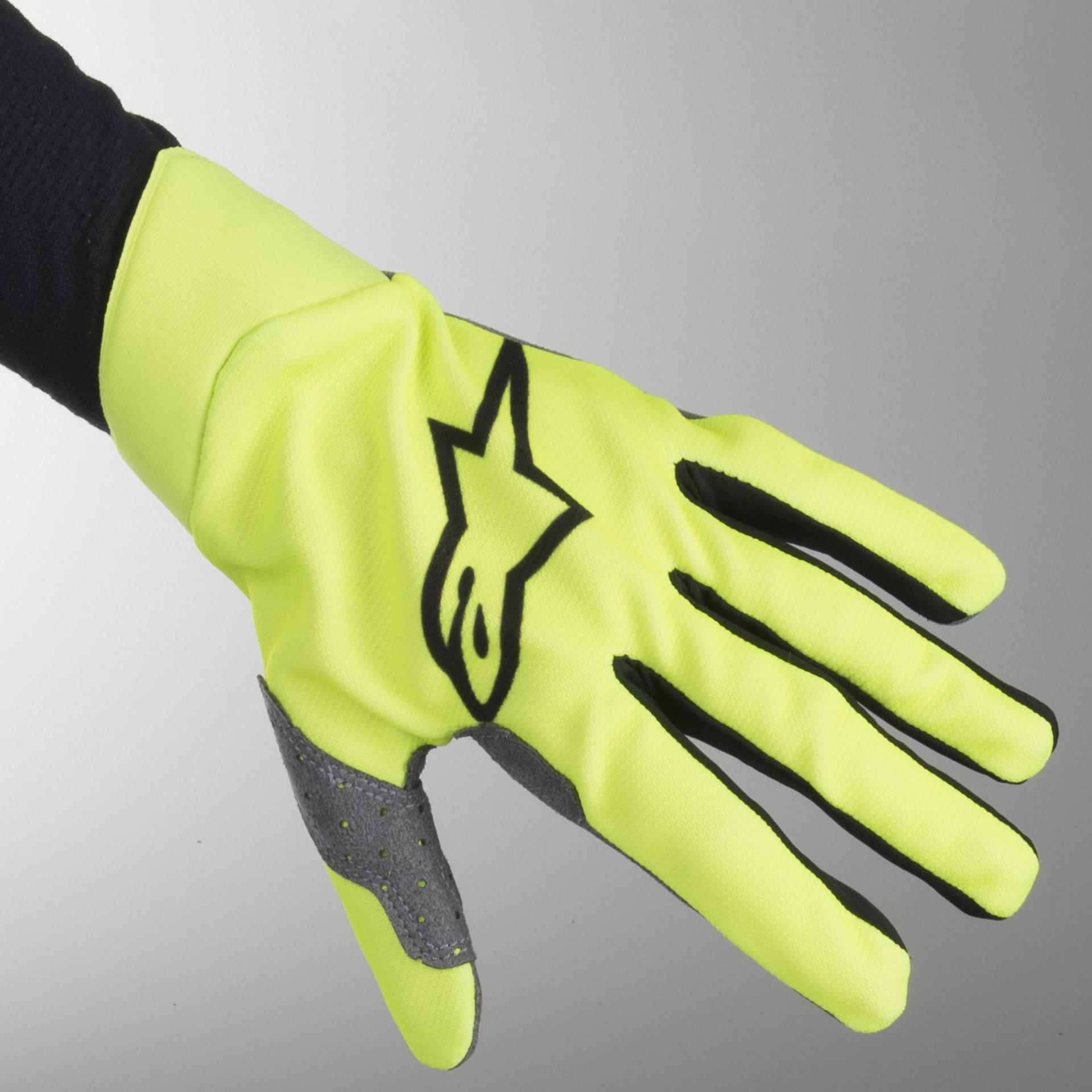 Alpinestars 2019 Mens Racefend MX Gloves Red//Black