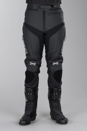IXS Rouven Leather Trousers Black