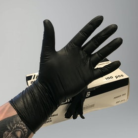 Rękawice Ochronne Premium PROWORKS Nitrile  100Sztuk