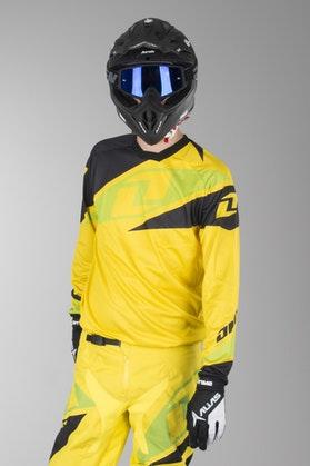 OneIndustries Atom Motocross Jersey Yellow