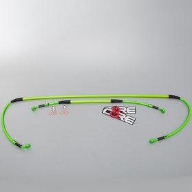 Przewód hamulca zestaw Core Moto zielony