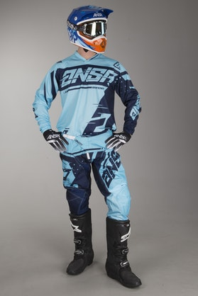 Answer Syncron MX-Clothing Kit Cyan-Navy
