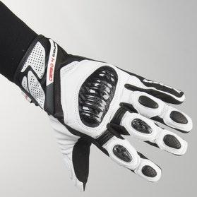 Rękawice Spidi Carbo 4 Coupe Czarno-Białe
