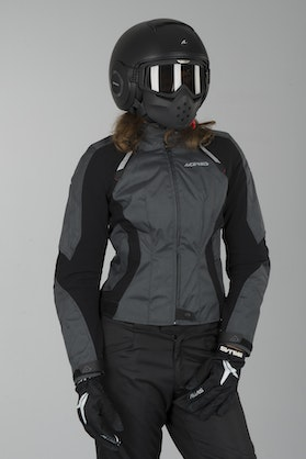 Acerbis Braaid Women's Enduro-Jacket Grey-Black