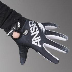 Rękawice Cross Answer A17 Sync Czarno-Białe Dziecko