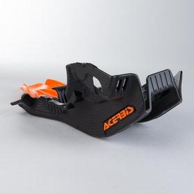 Bundplade Acerbis, Sort/Orange