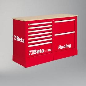 Specjalny wózek narzędziowy typu Racing SM Beta Tools