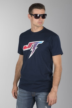 T-Shirt JT Racing Voltage Niebieski